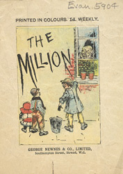 Advert for 'The Million', periodical 5904